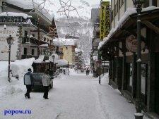 Горные лыжи. Поездка в Италию (Червиния, 2004)