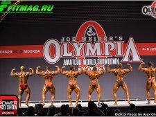 Мистер Олимпия Москва 2015, 3-й день, финалы, 05.12.2015